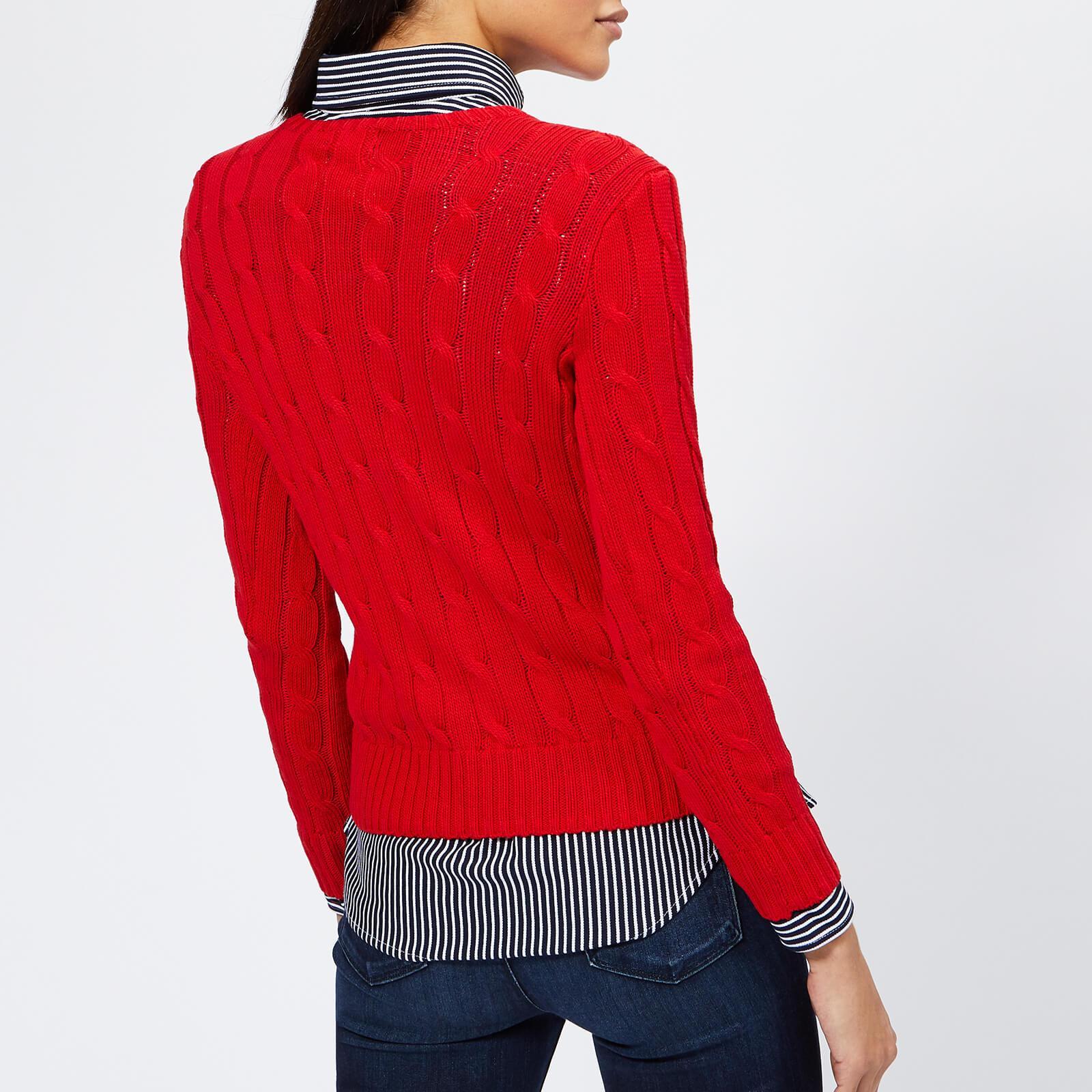 6d96e6b43951 Polo Ralph Lauren - Red Julianna Jumper - Lyst. View fullscreen