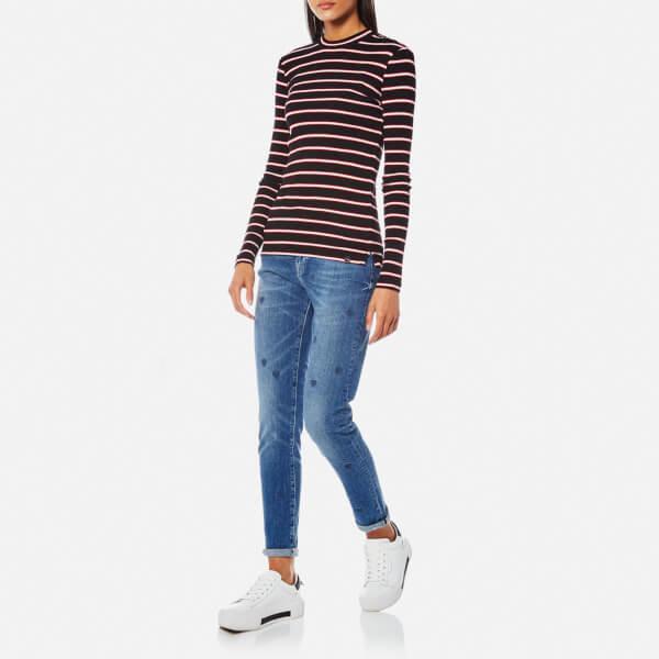 Womens Petit Ami-Indigo Heart Jeans Scotch & Soda skeASvlrp
