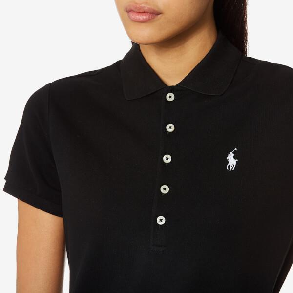 Ralph Lauren Women Mesh Polo Dresses Black