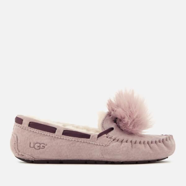 7f225ce9857 Lyst - UGG Women's Dakota Moccasin Suede Slippers in Pink