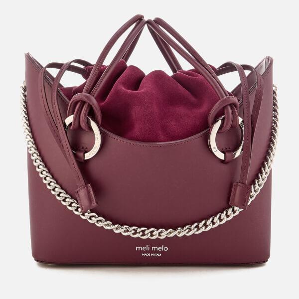 meli melo Women s Ornella Drawstring Tote Bag in Purple - Lyst e2b34b09a088b
