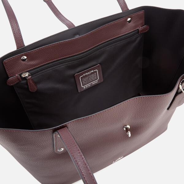 ... clearance lyst coach womens market tote bag in purple ec371 c35fb dfd1020d5bd42