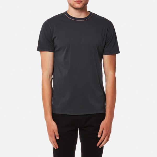 Cotton-jersey Polo Shirt - BlackOfficine Generale Pour Pas Cher Magasin Discount Amazone Discount MQG2TEU5