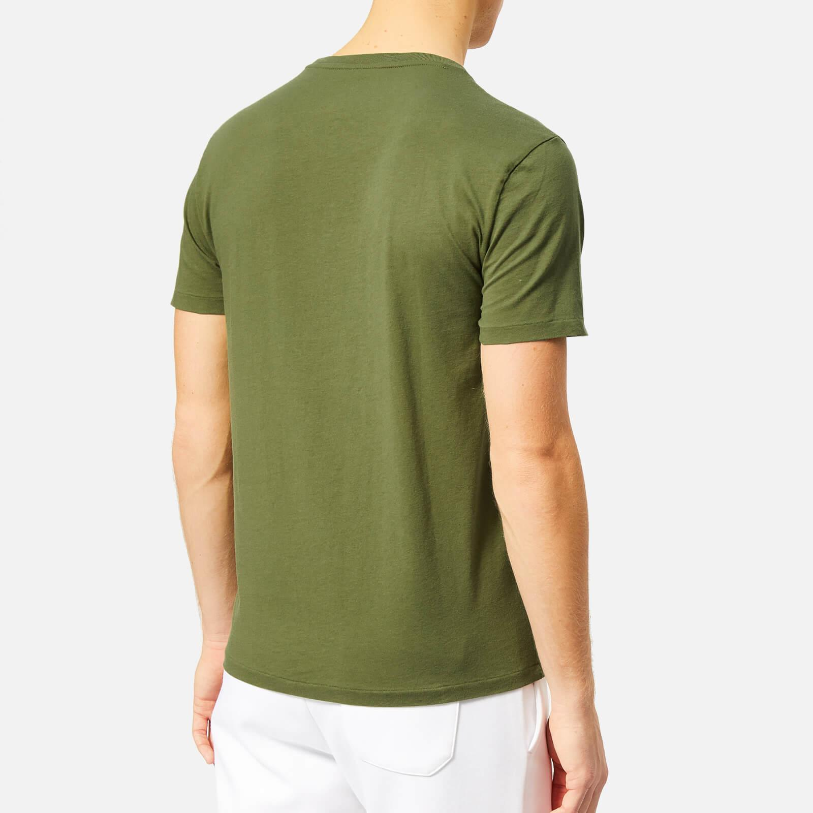 0c643037 Polo Ralph Lauren - Green Custom Slim Fit Crew Neck T-shirt for Men -. View  fullscreen