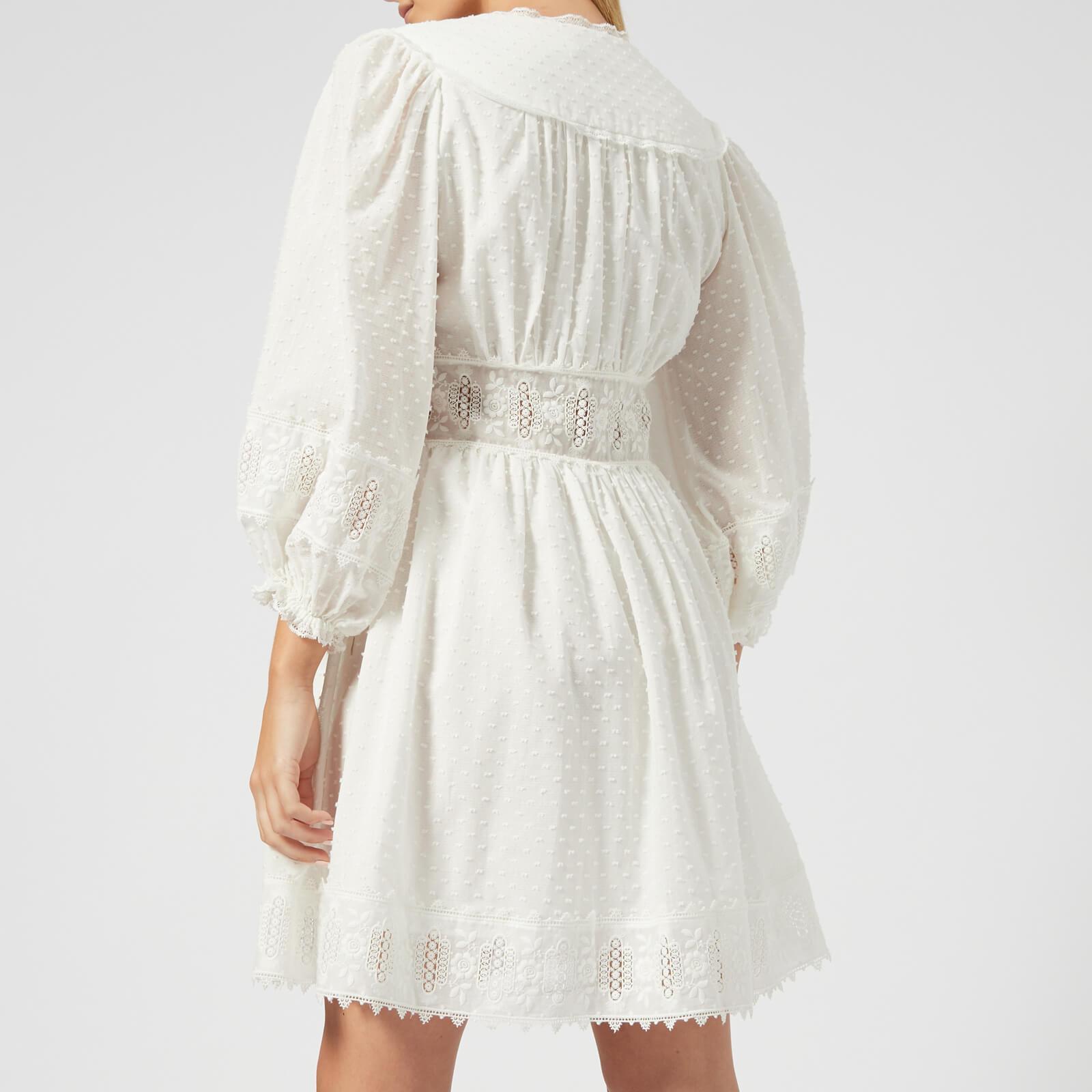12574d17d7b Zimmermann - White Iris Corset Waist Dress - Lyst. View fullscreen