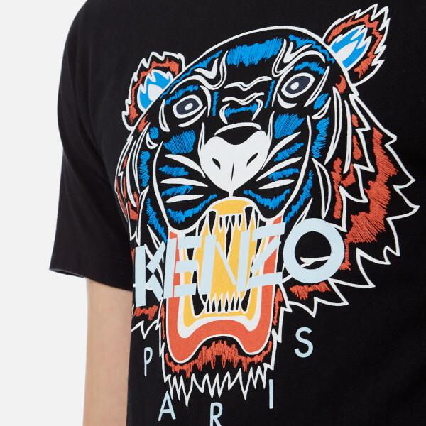8d30fbe1 KENZO Men's Actua Tiger Tshirt in Black for Men - Lyst