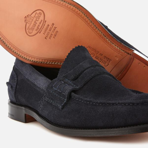 502ab60d21d Church s - Blue Men s Pembrey Suede Loafers for Men - Lyst. View fullscreen