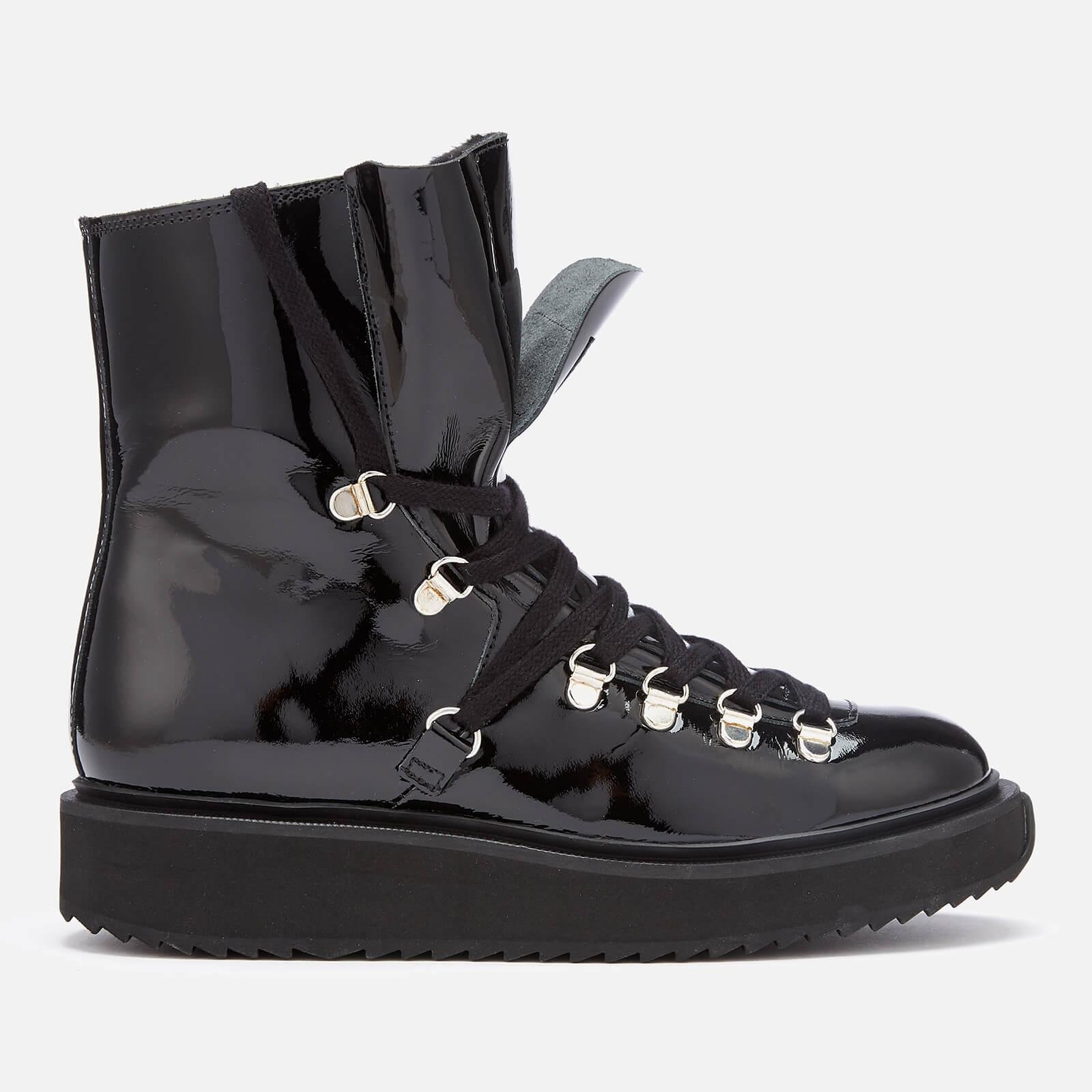 627ff0122ffc Lyst - KENZO Alaska Patent Leather Boots in Black - Save 31%
