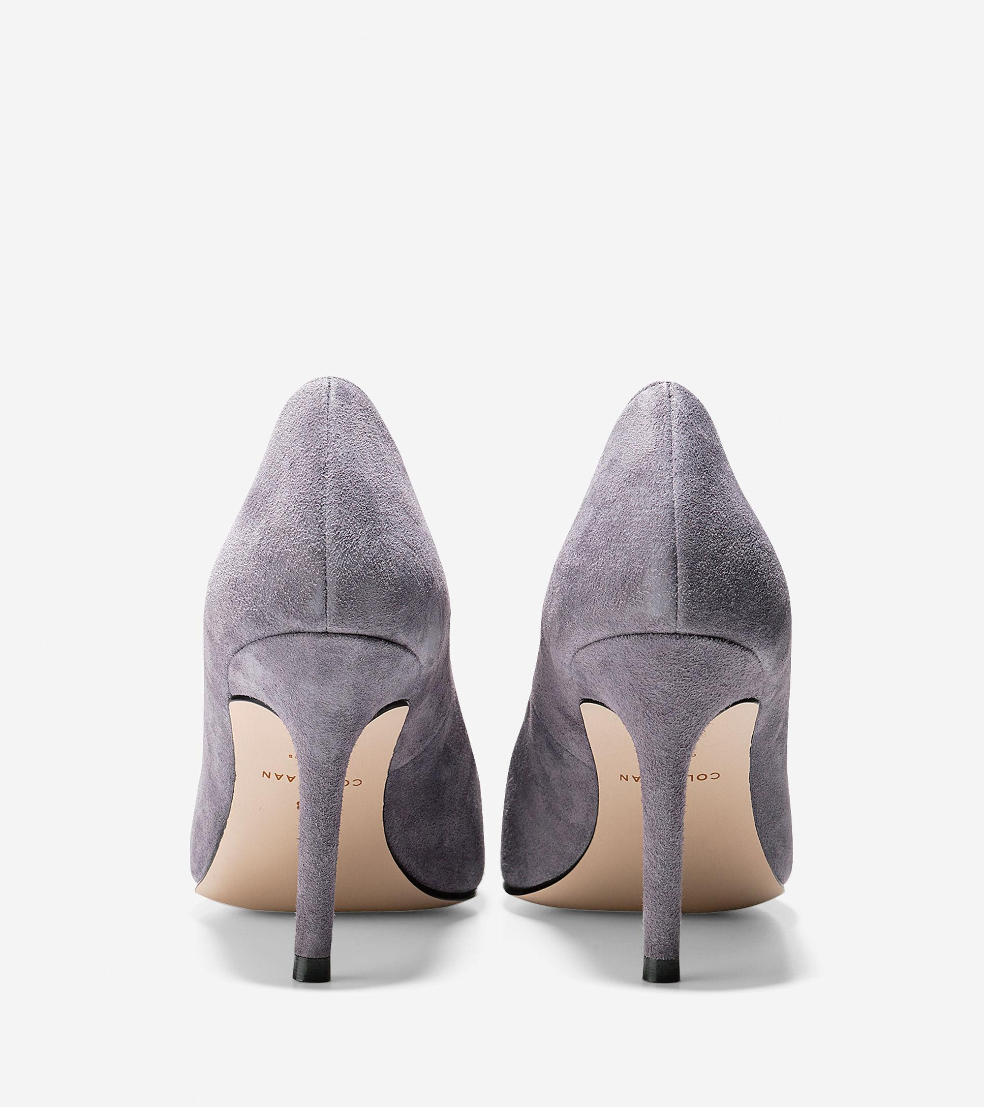 Grey Cole Haan High Heels Shoes