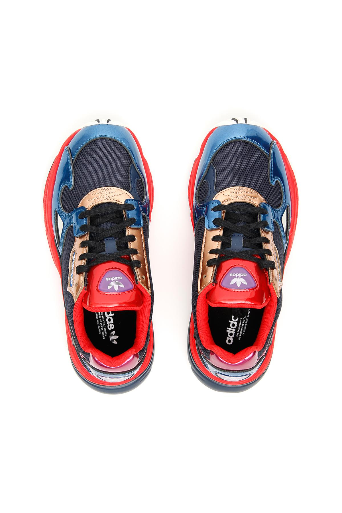 sports shoes 77928 ba35f Adidas Falcon Sneakers in Red - Lyst
