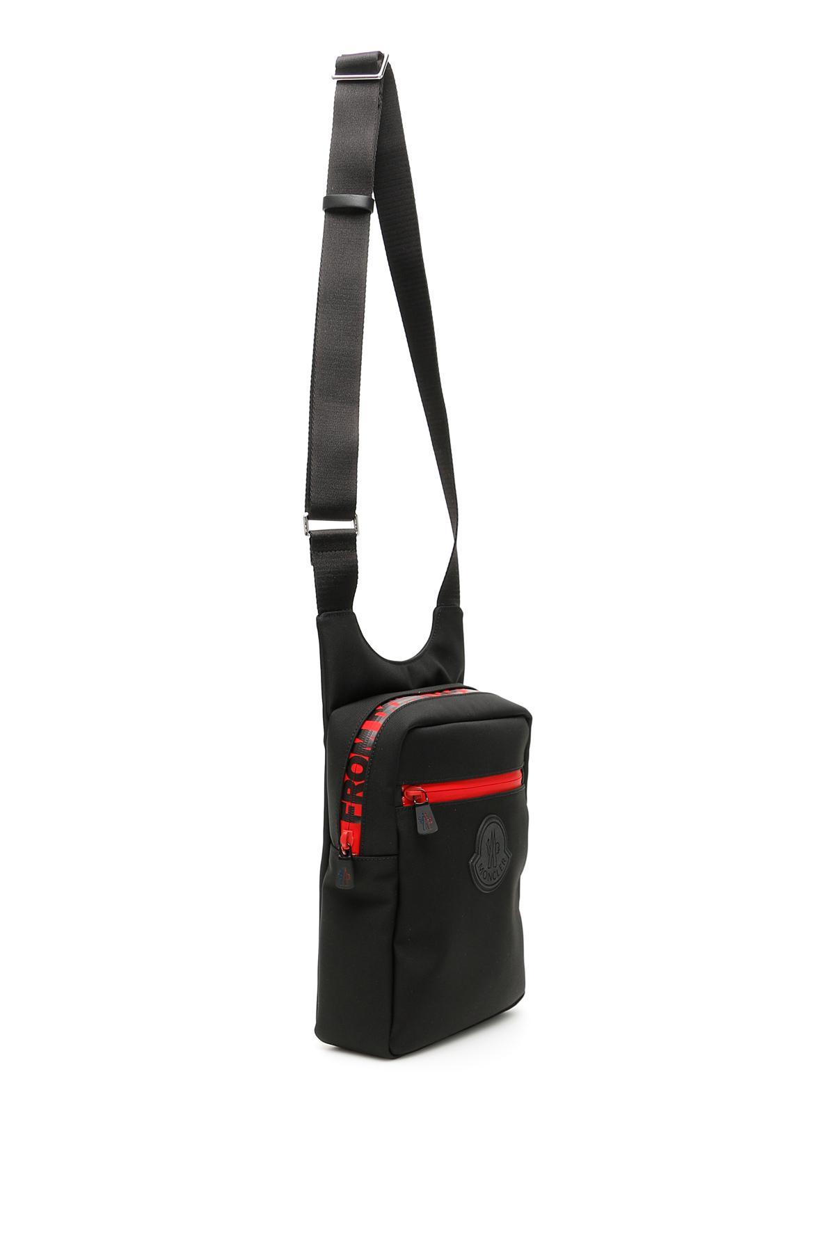 fcd244cae69 Moncler Pascal Messenger Bag in Black for Men - Lyst