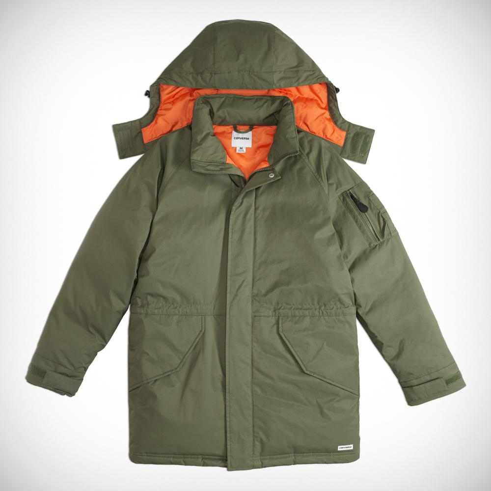 c87021405f72 Converse Sideline Down Jacket in Green for Men - Lyst