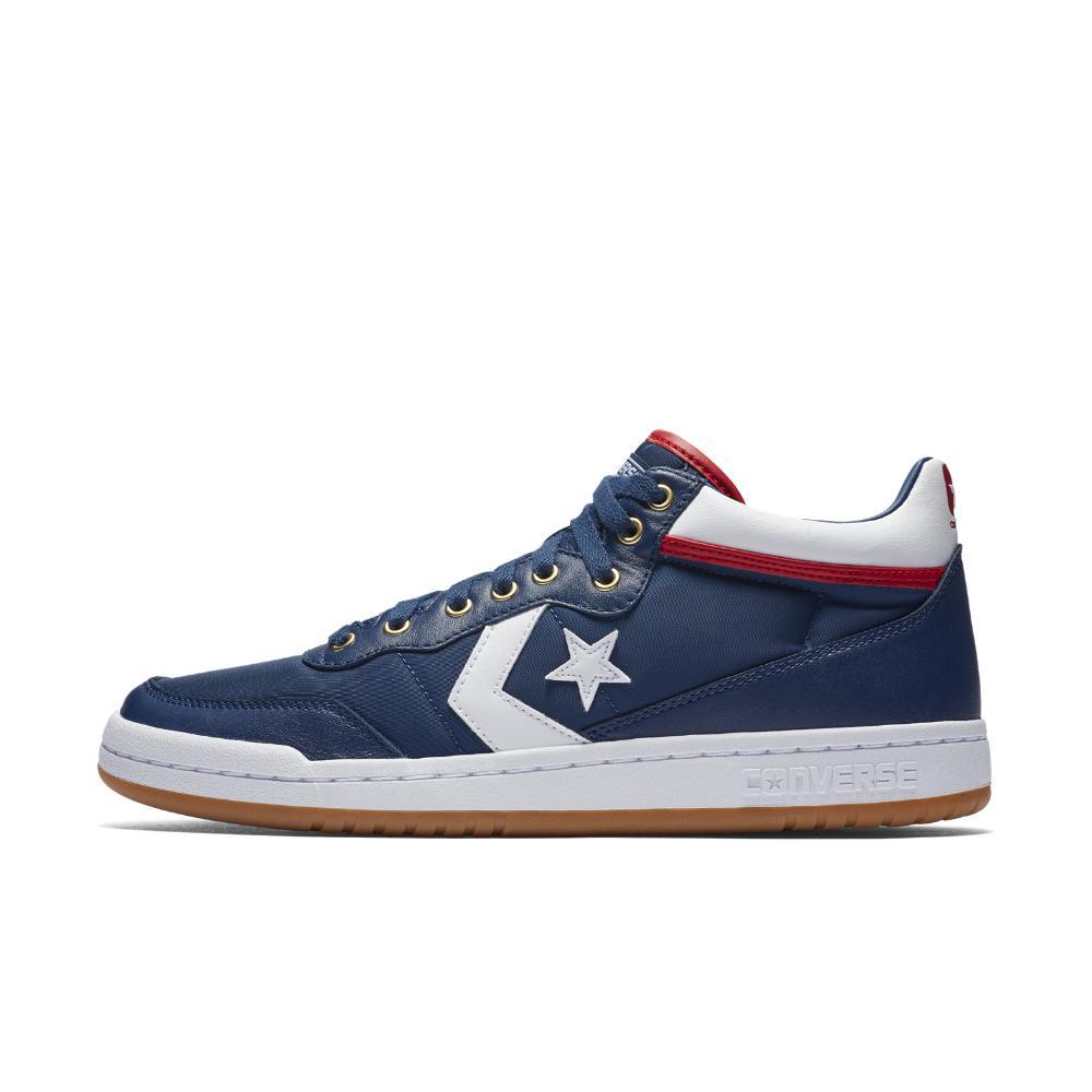 Lyst - Converse Fastbreak Pro Mid Men s Skateboarding Shoe in Blue ... ad45aee8a