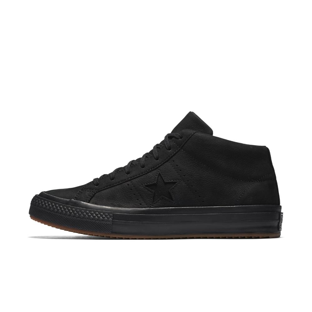 Lyst - Converse One Star Mid Counter Climate High Top Shoe in Black ... 52357bac4