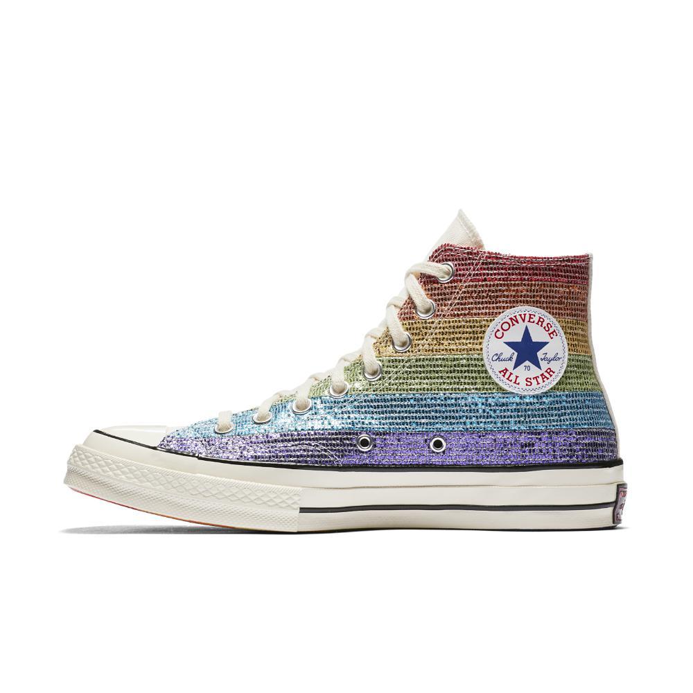 2d2128719ac4 Lyst - Converse Pride X Miley Cyrus Chuck 70 High Top Shoe in Blue