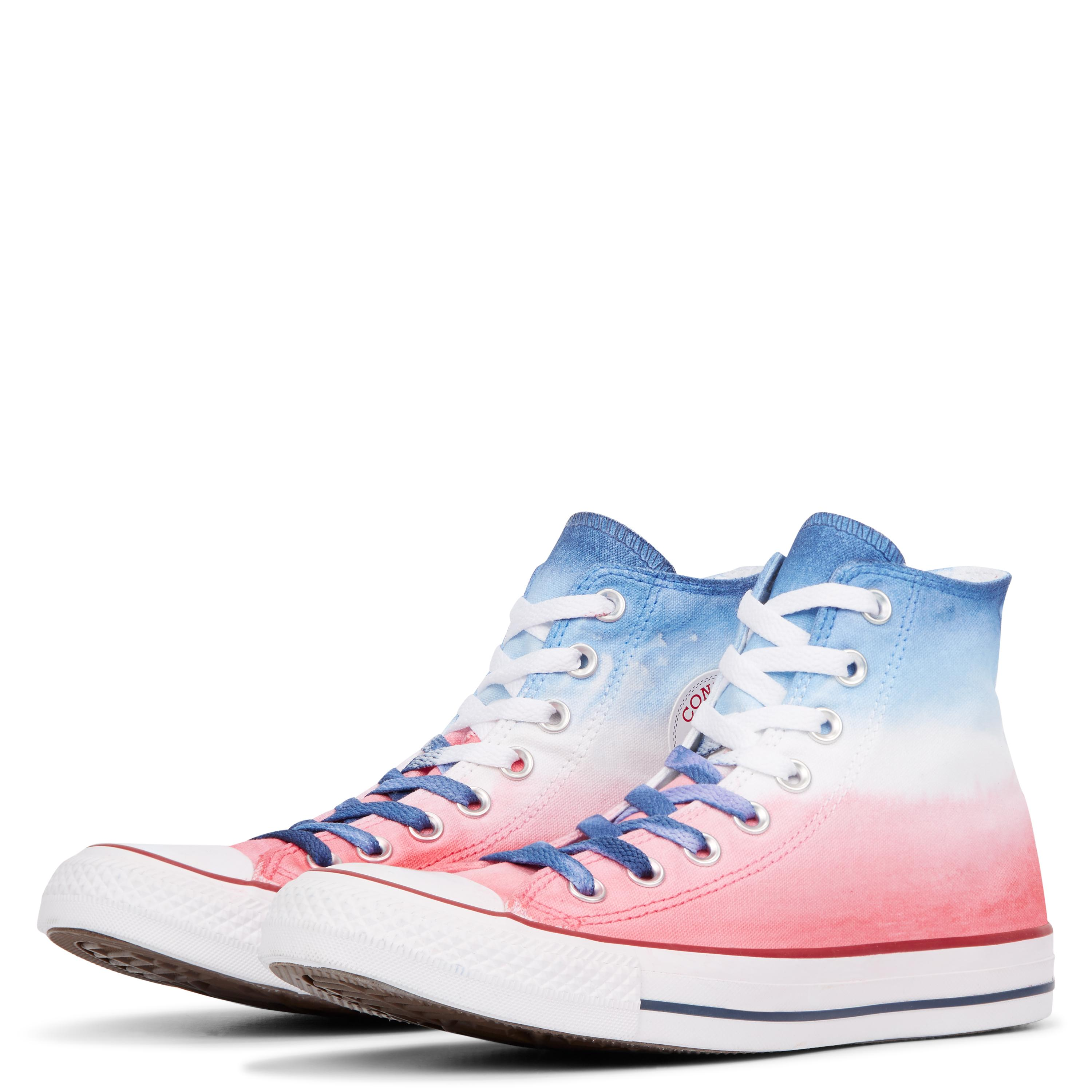 90c053ce86846e Converse Chuck Taylor All Star Dip Dye High Top in Blue for Men - Lyst