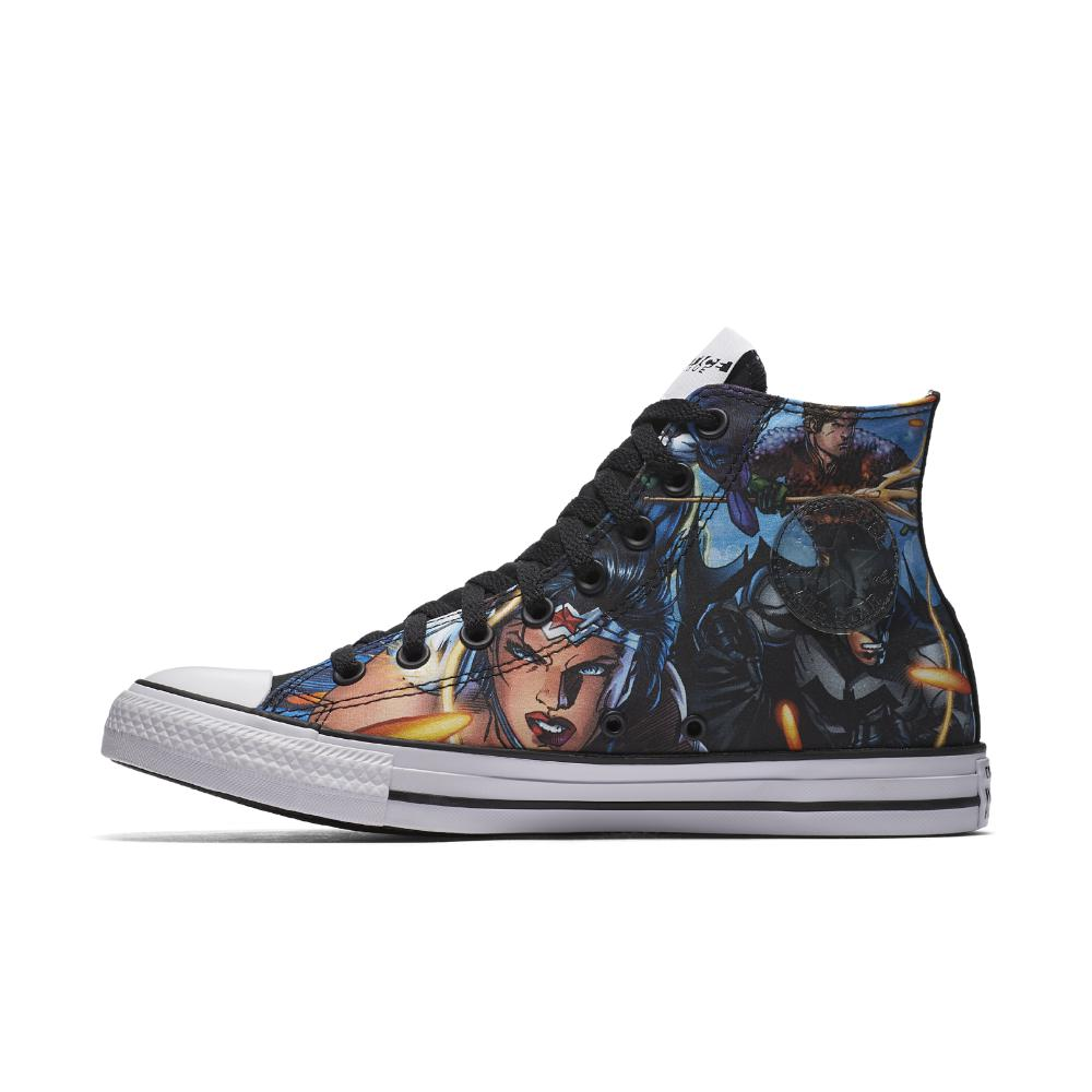 abe62e28405e Lyst - Converse Chuck Taylor All Star Dc Comics Justice League High ...