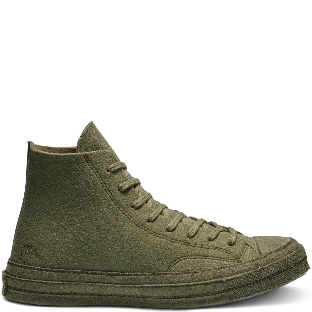 d8dc2e8275d Converse X Jw Anderson Felt Chuck 70 High Top in Green for Men - Lyst