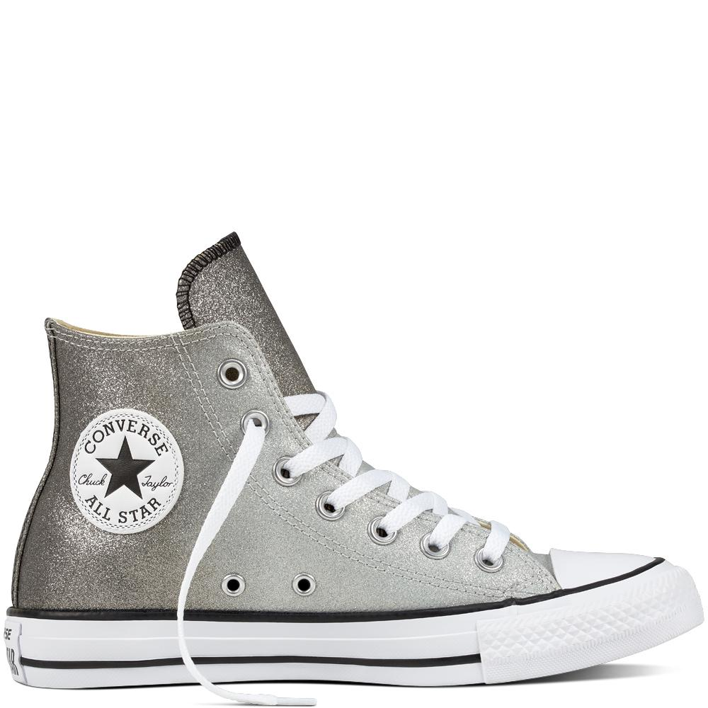 ed4bf6c1415d Converse Chuck Taylor All Star Ombre Metallic in Gray for Men - Lyst