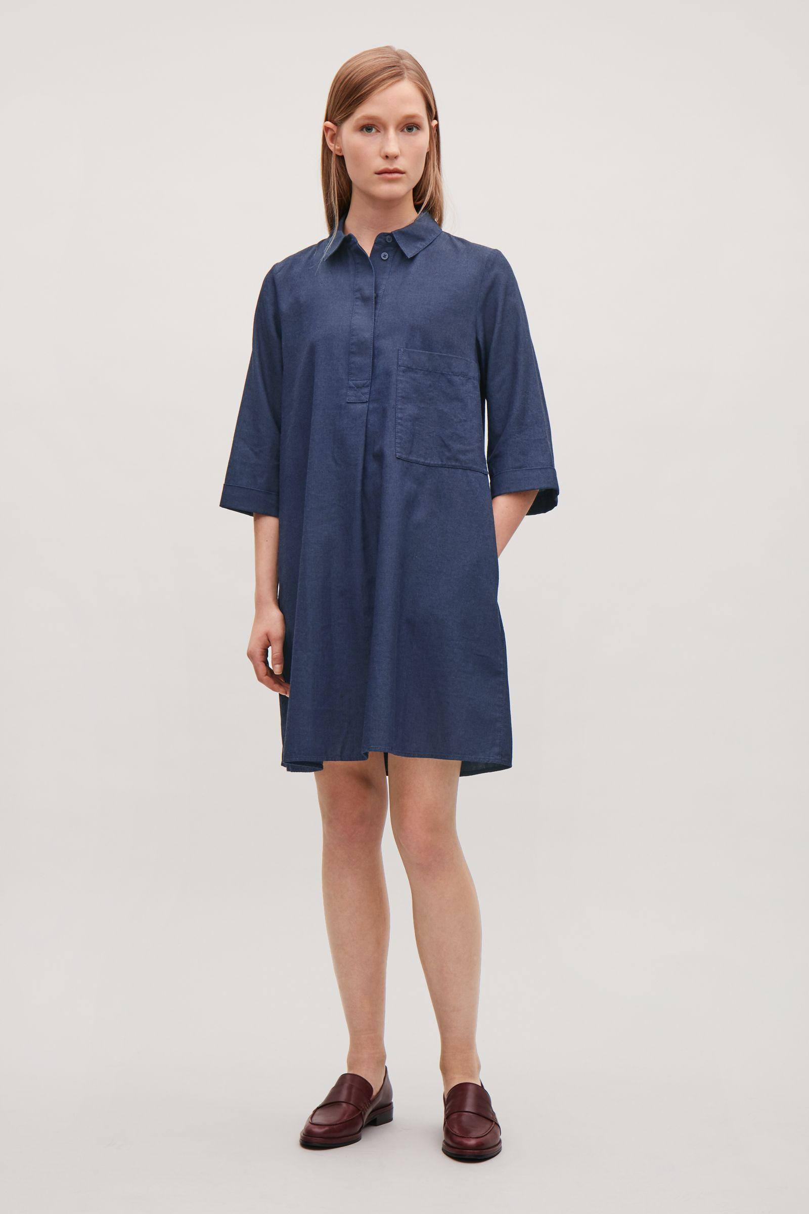 b259848429 Gallery. Previously sold at  COS · Women s Denim Dresses Women s Shirt ...