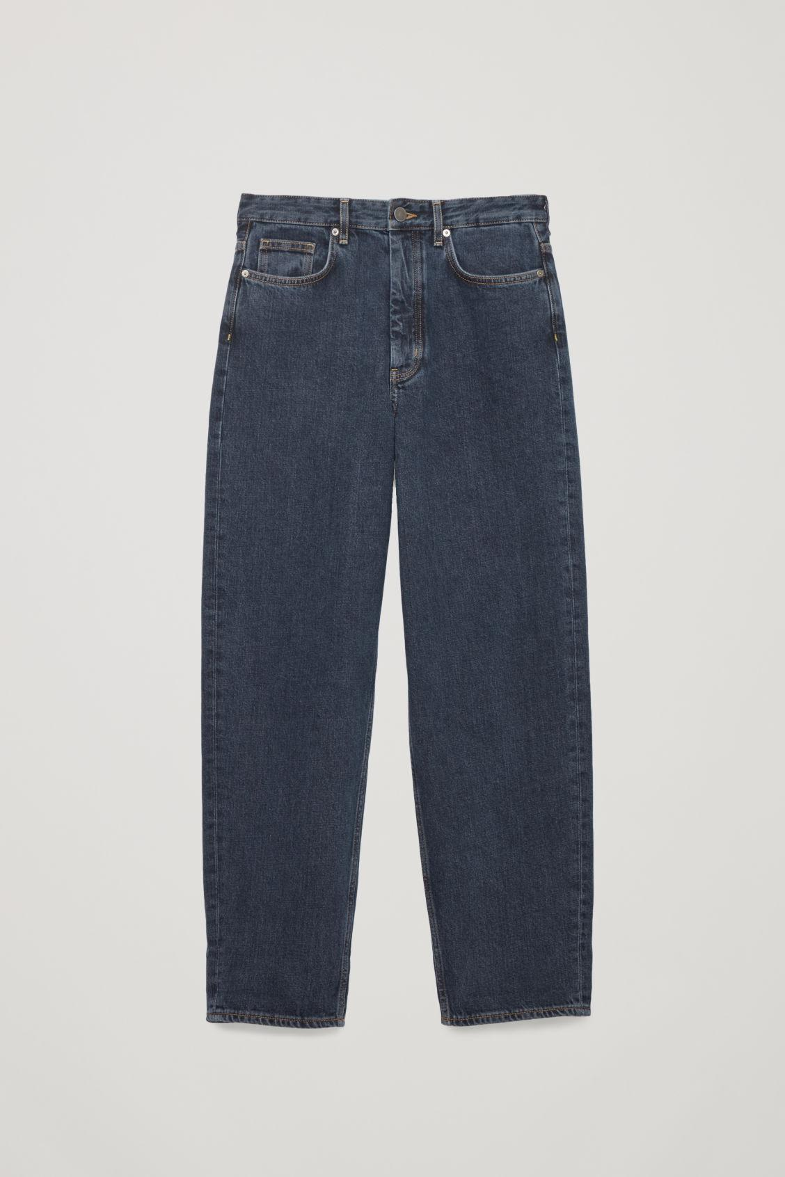 4ab7d33a1a9 Lyst - Cos Tapered Leg Jeans in Blue
