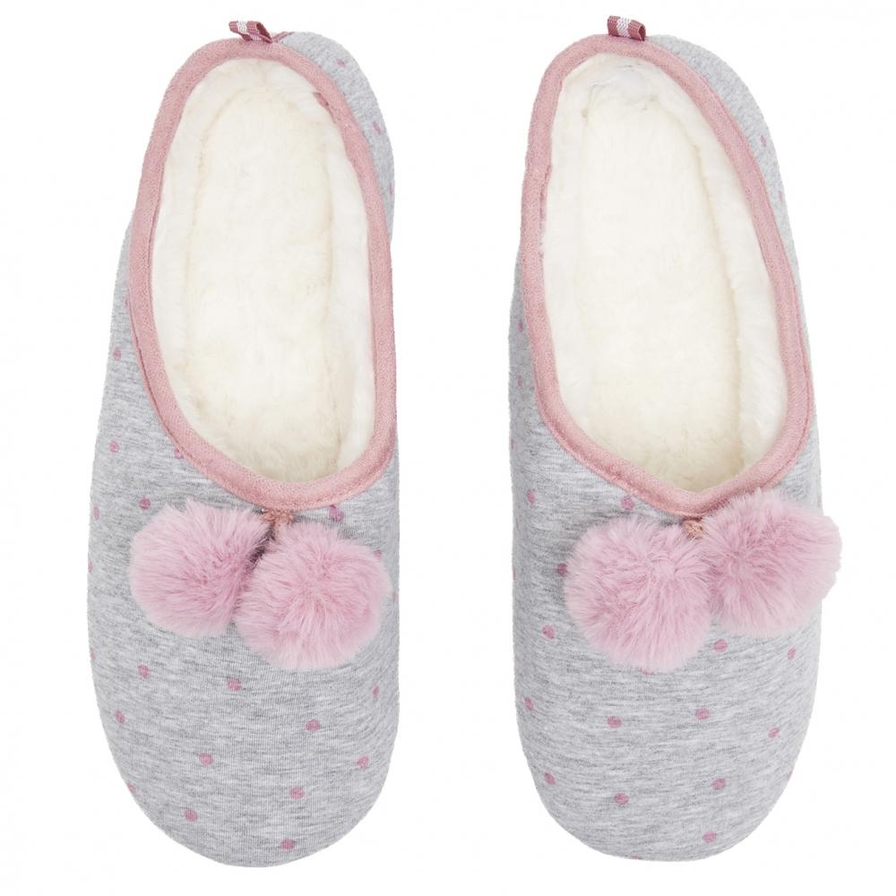 7820f0bc788 Joules Mitsy Mule Slip On Womens Slippers (z) in Gray - Lyst