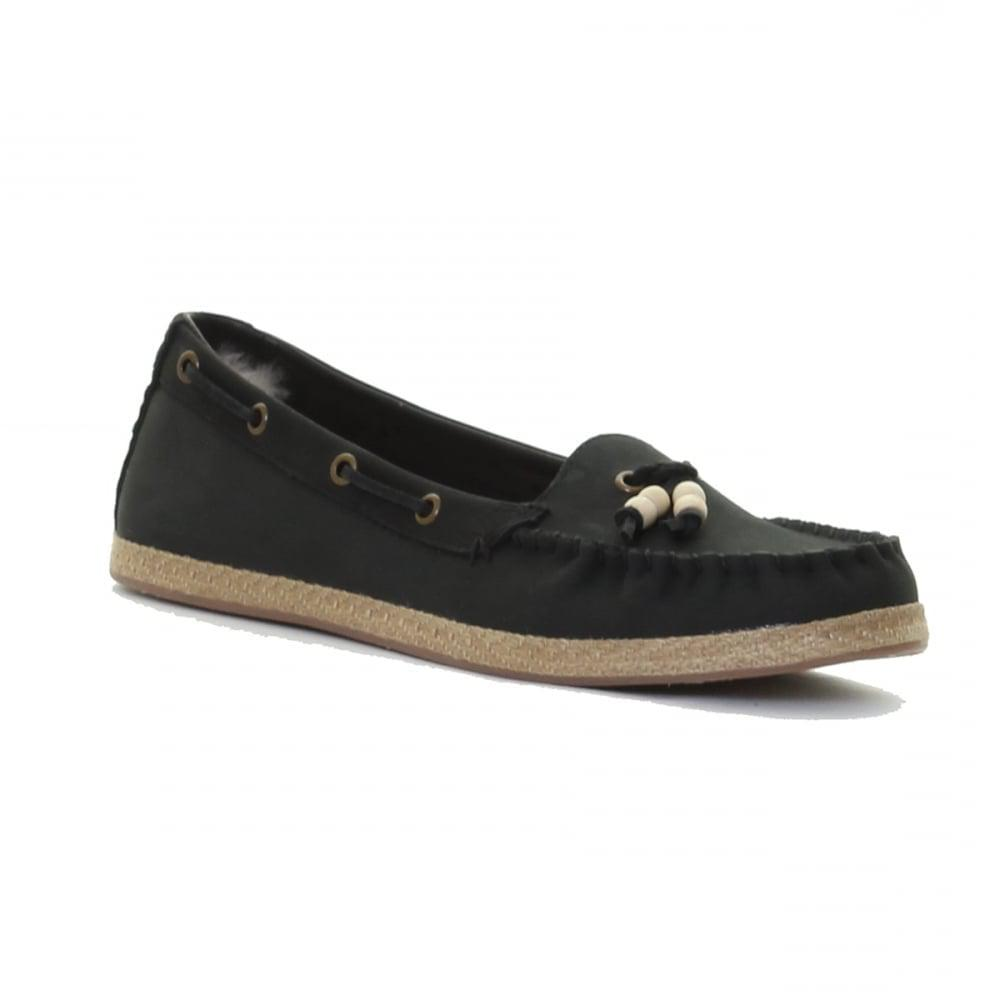 a28bf51b204 Lyst - UGG Suzette Ladies Moccasin Shoe in Black