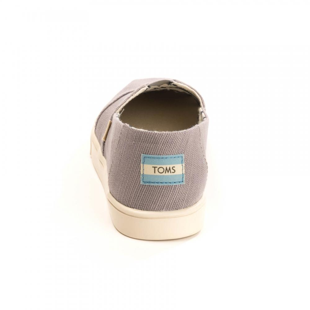 ff812a9f408 TOMS - Gray Morning Dove Heritage Womens Alpargata Espadrille - Lyst. View  fullscreen