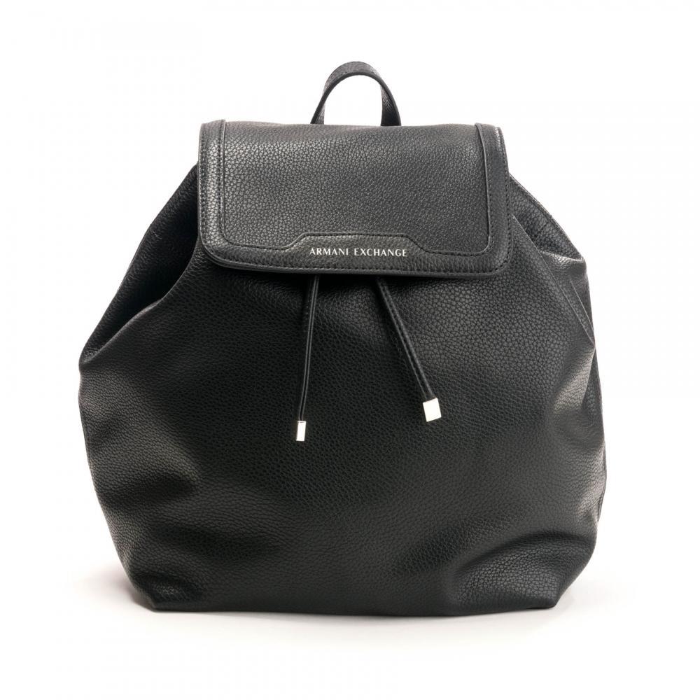 3f70d53e57f6d Armani Womens Backpack in Black - Lyst