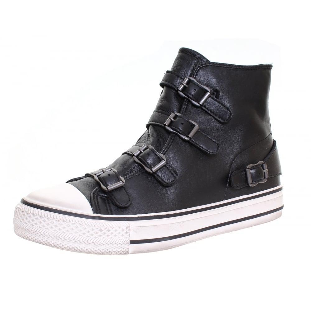 c99d78ff4531 Lyst - Ash Virgin Womens High Top Boot in Black