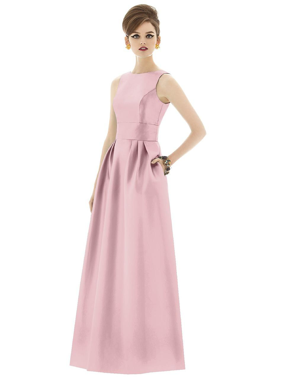 Lyst - Alfred Sung D Bridesmaid Dress In Blossom in Pink - Save 13%