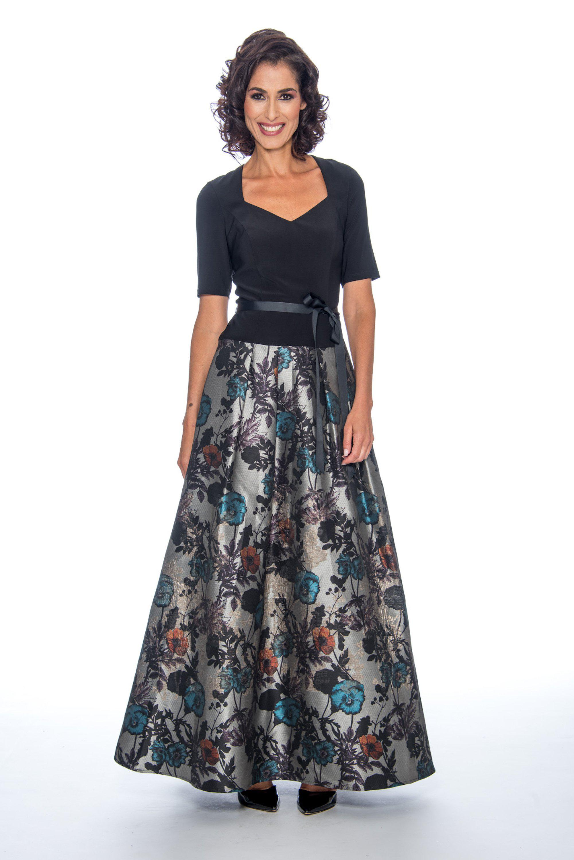 08b9095a7de89 Lyst - Decode 1.8 184913 Short Sleeve Queen Anne Floral Jacquard ...
