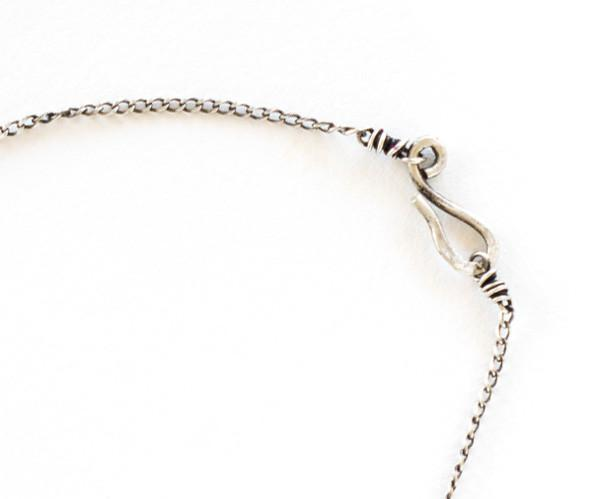 Irit design Sterling Silver And Diamond Arrow Necklace in Metallic