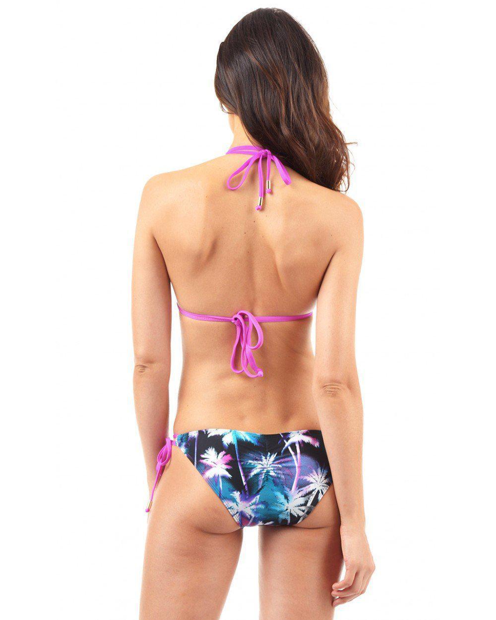 4212b708fc Lyst - Voda Swim Miami Envy Push Up Double String Bikini Top - Save 32%