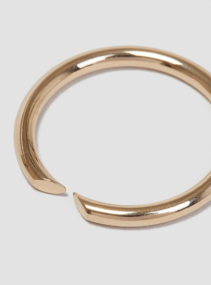 Lyst - Helena Rohner Open Thin Wire Ring in Metallic