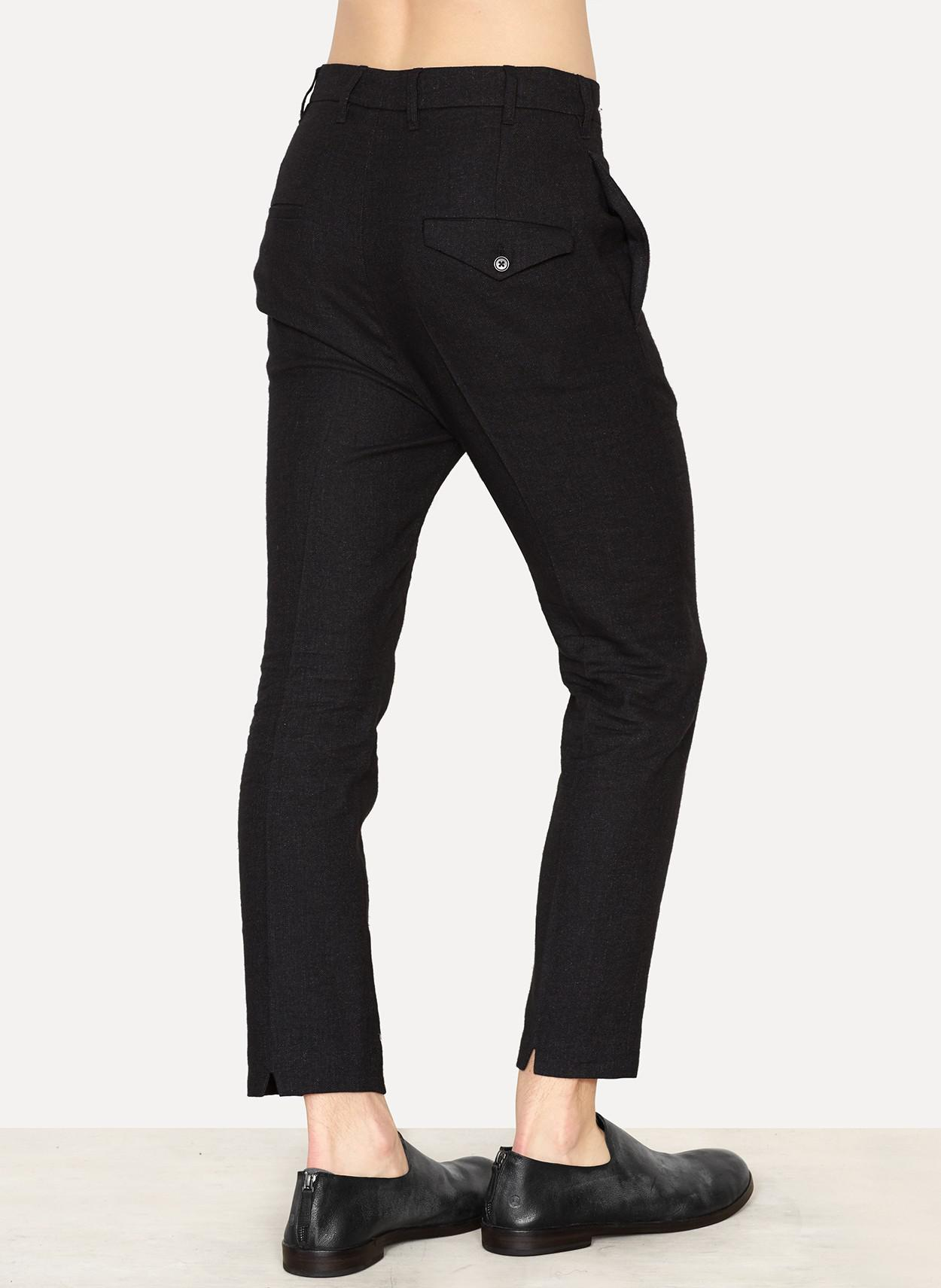 Official Site Cheap Online Grey Outlet Store Online Ann Demeulemeester high waist trousers - Black O6UgBdRQ9m