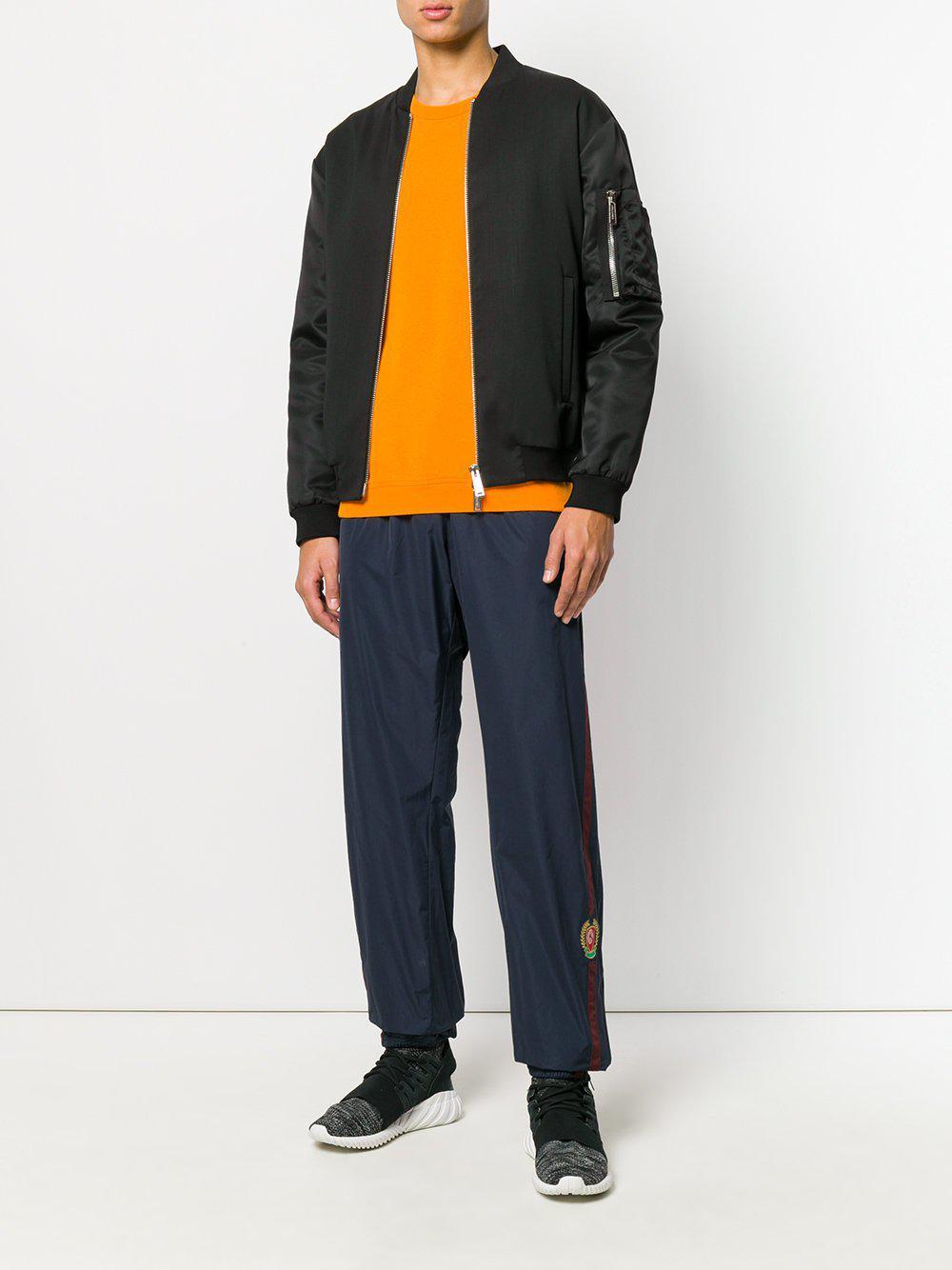 b5008b7c6c4f4 Lyst - Yeezy Calabasas Crest Trackpants Luna in Blue for Men