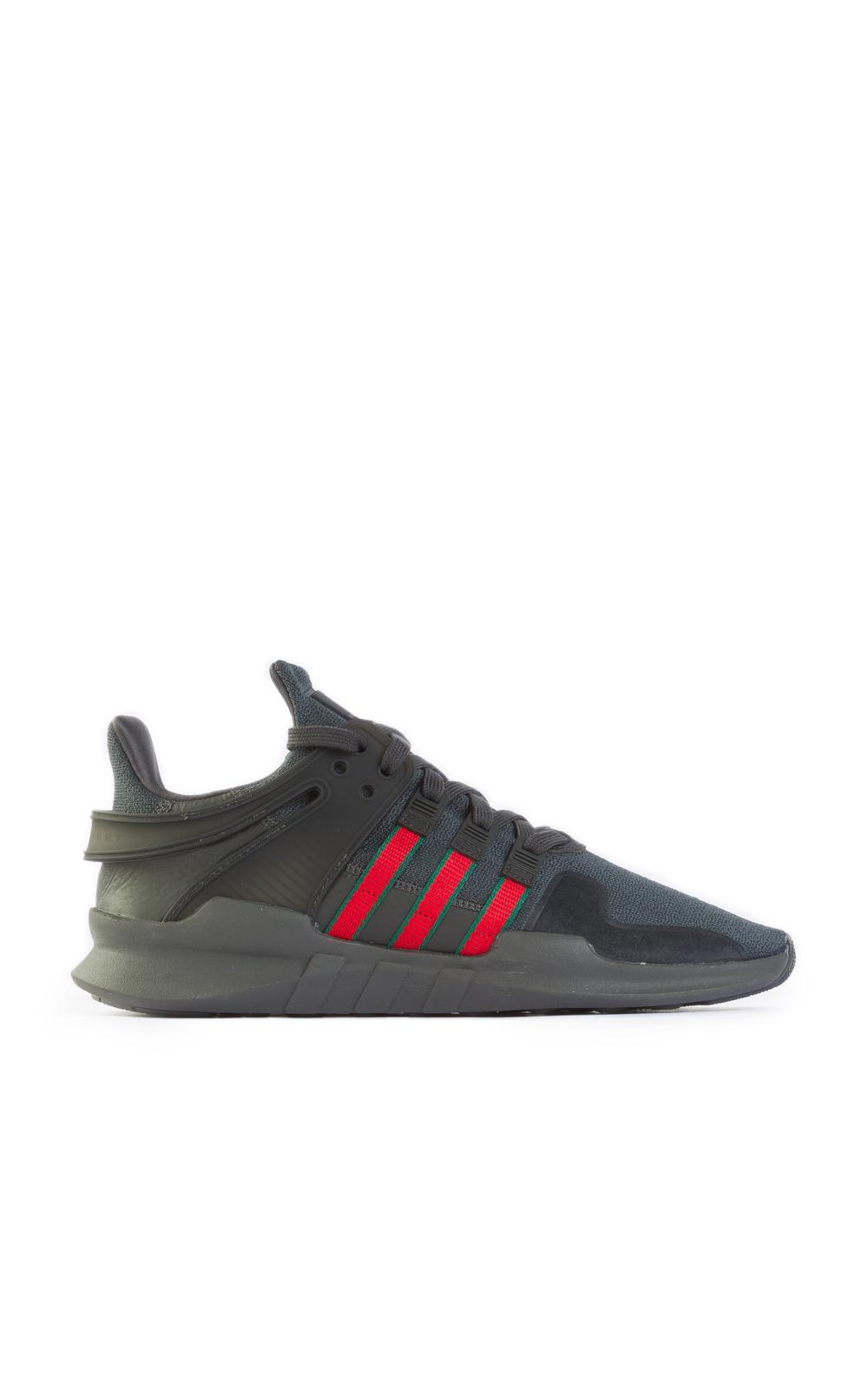 Adidas Originals EQT Support ADV negro / rojo en negro para hombres Lyst