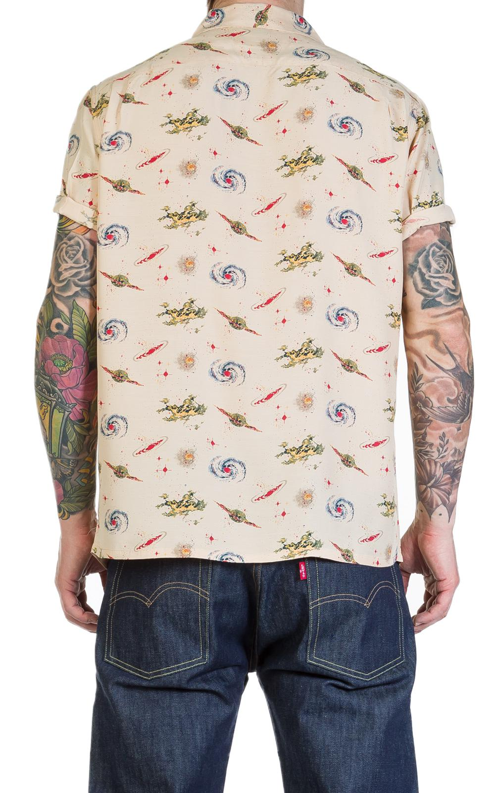 89e3d60e Levi's 1940s Hawaiian Shirt Universe Beige in Natural for Men - Lyst