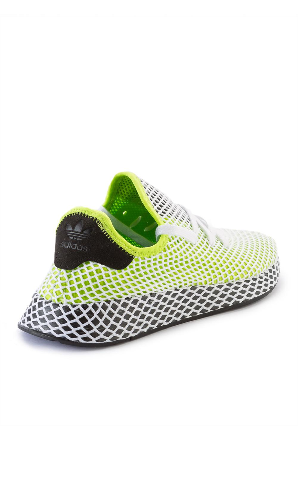 purchase cheap ed9b7 77bfb adidas Originals Deerupt Runner Semi Solar Slime - Lyst