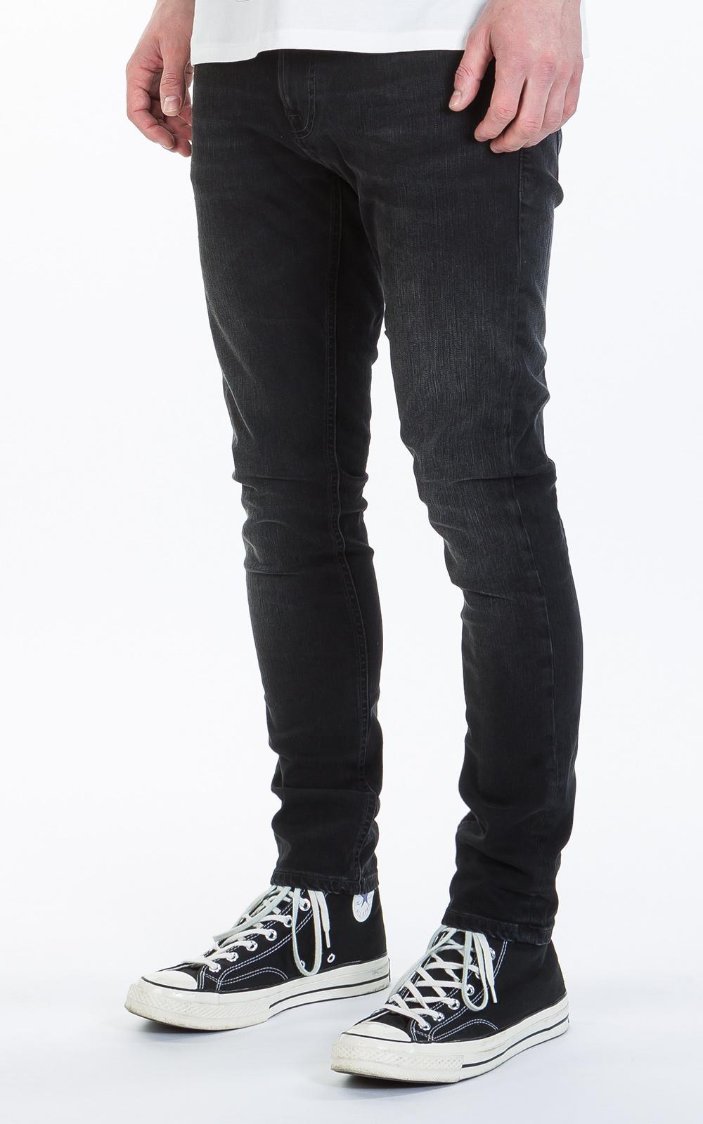 d7d33268e05ee Lyst - Nudie Jeans Nudie Jeans Tight Terry Black Breath in Black for Men