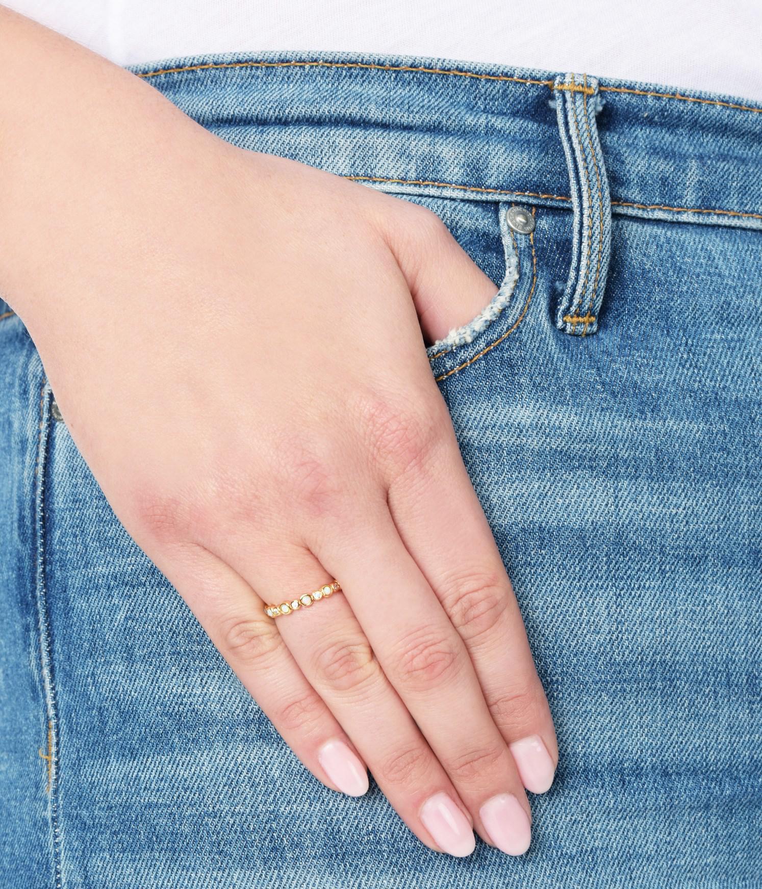Einzigartig Gold Ring Jeans