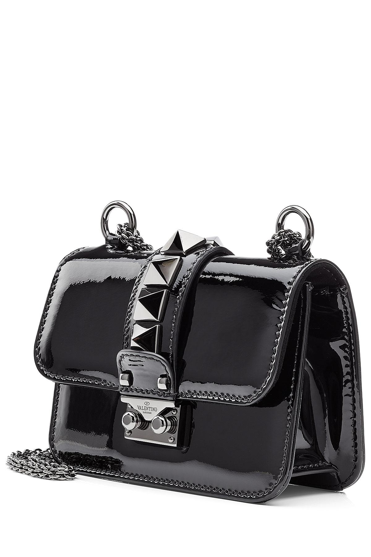 Small Black Patent Shoulder Bag Uk