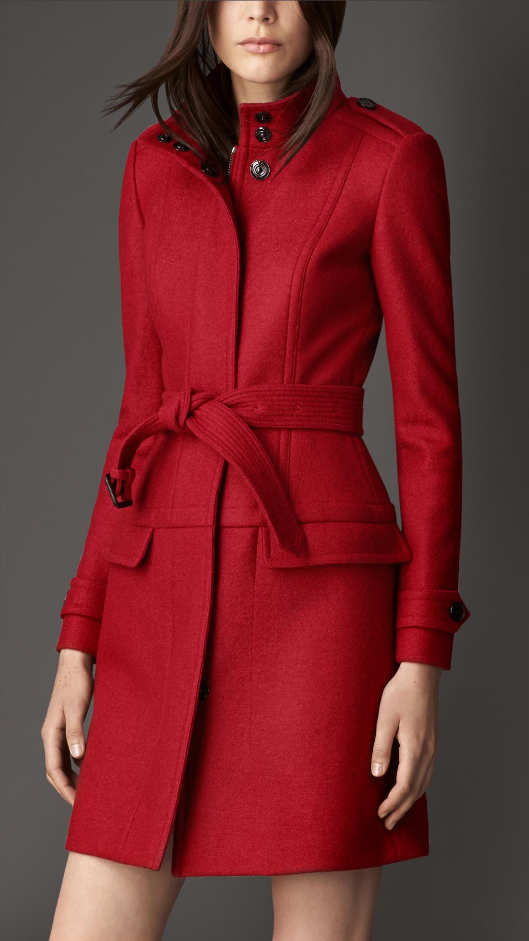 Red Coat Wool - JacketIn