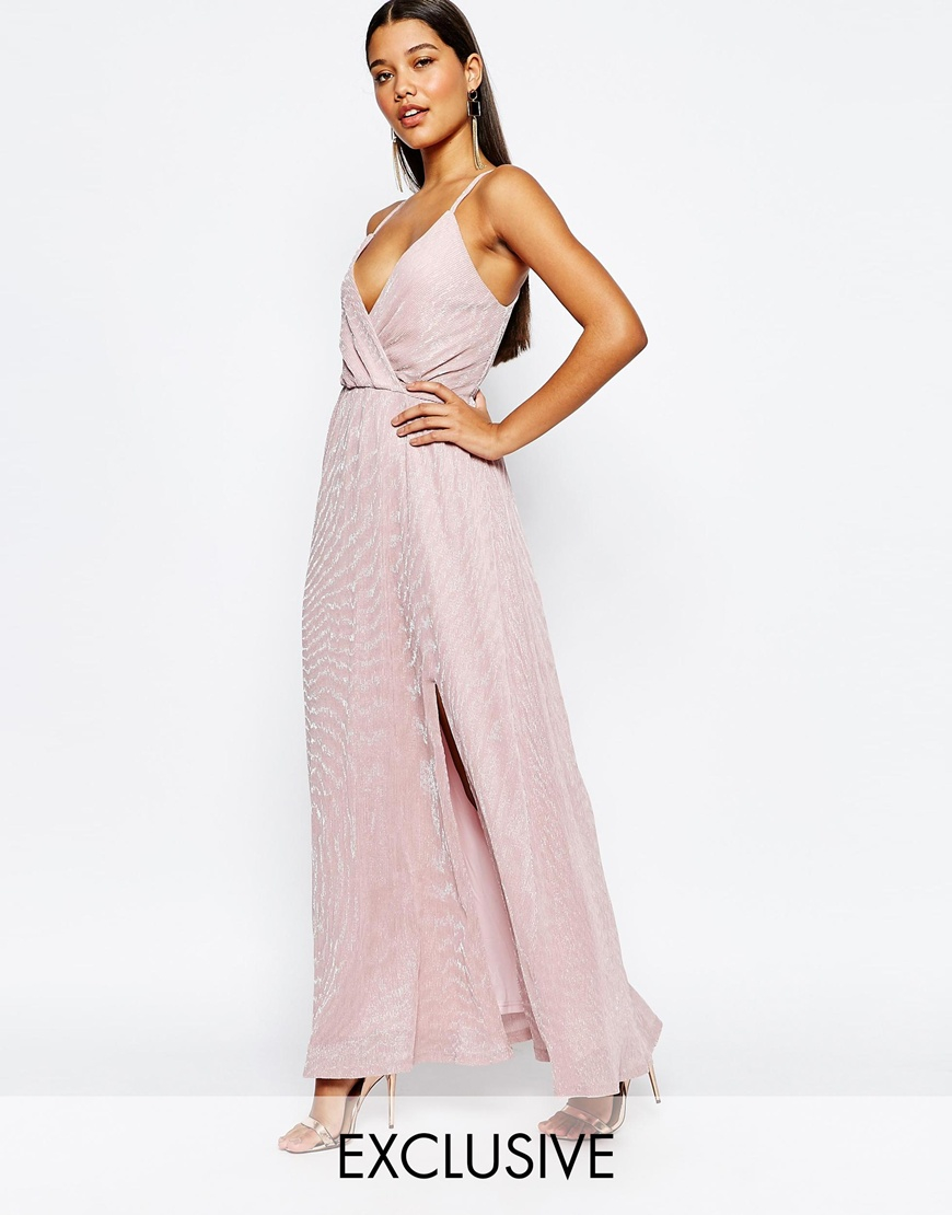 club l maxi dress asos us