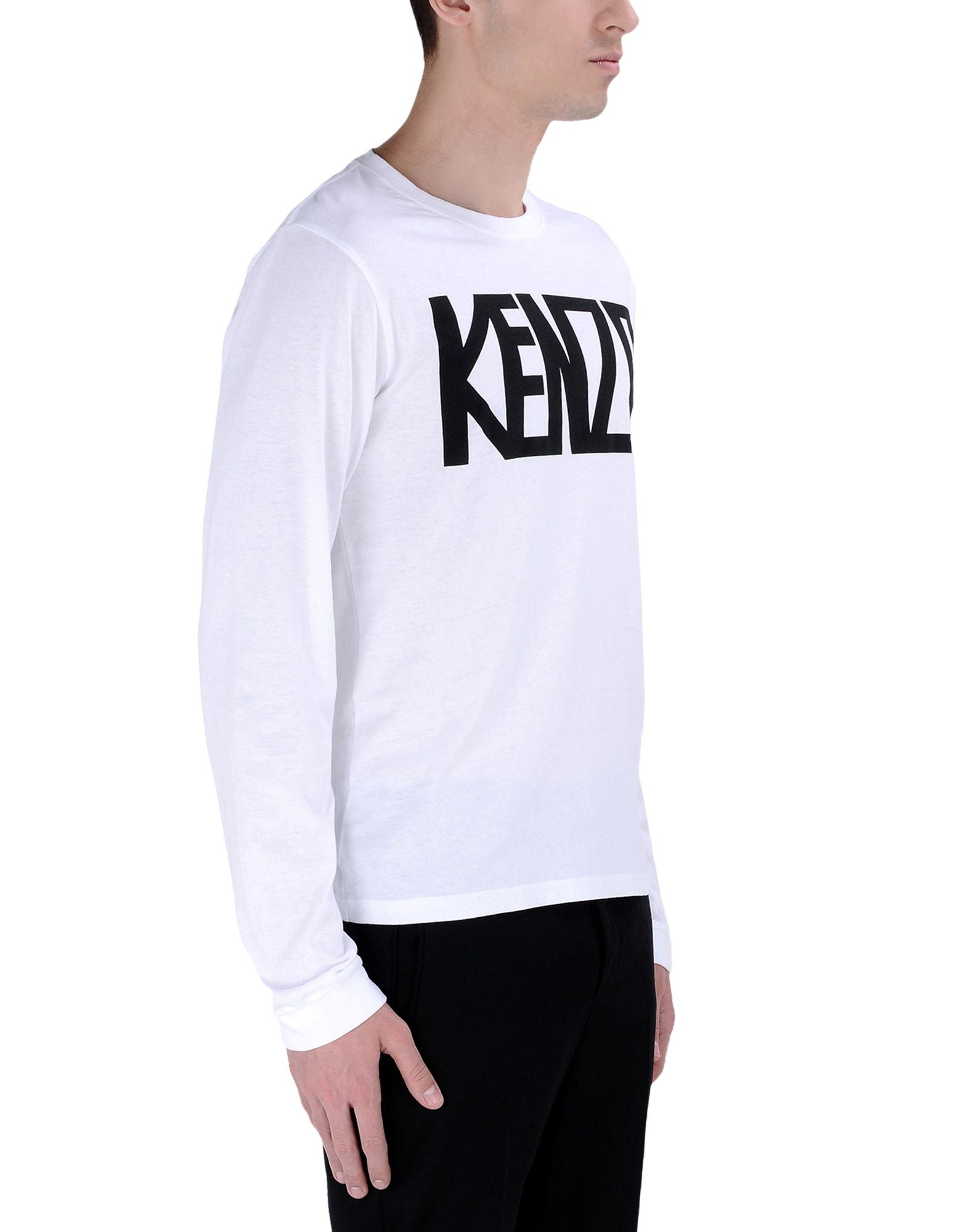 kenzo long sleeve t shirt in white for men lyst. Black Bedroom Furniture Sets. Home Design Ideas