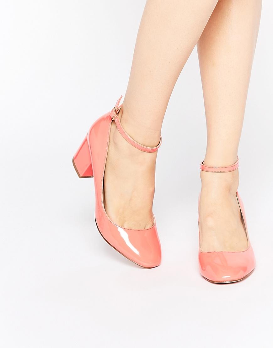 Pink Coral Heels