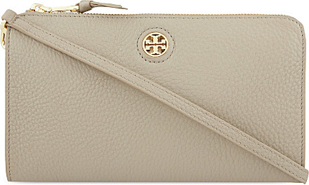 5bcc3e35cc11 Tory Burch Robinson Pebbled Leather Cross-body Bag