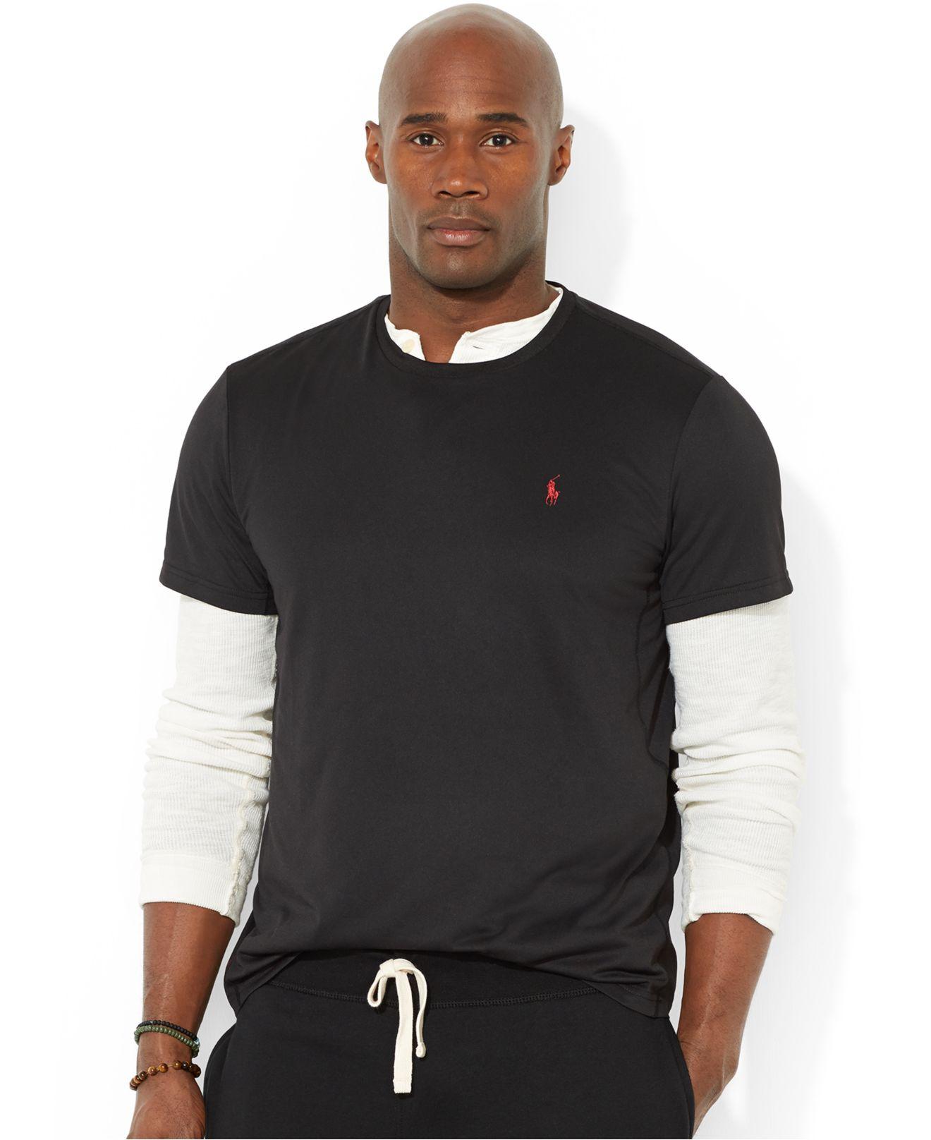 Polo ralph lauren Big And Tall Short-Sleeve Performance Crew-Neck T-Shirt