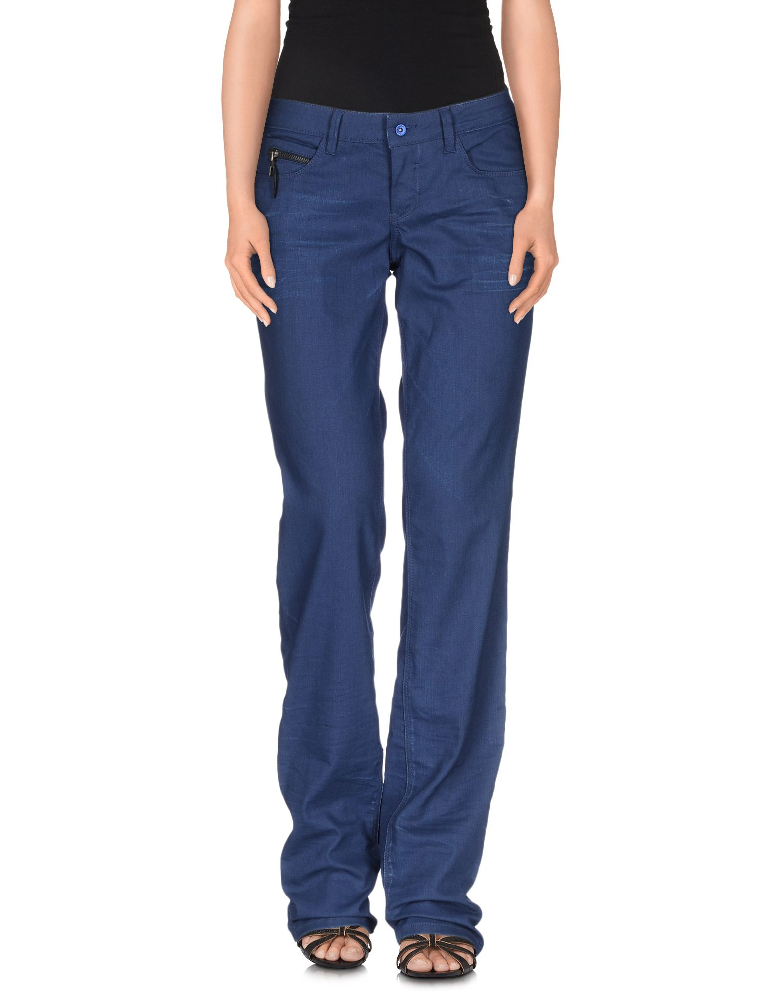 Costume national Denim Pants in Blue | Lyst